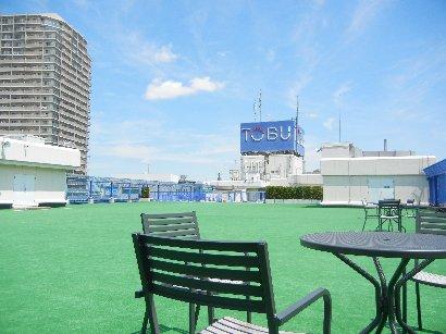東武船橋屋上ガーデン