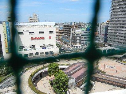 東武船橋屋上から北側(ヨーカドー)
