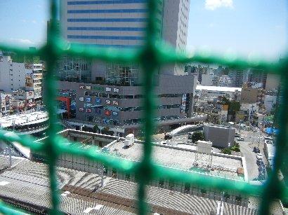 東武船橋屋上から南側(フェイス)