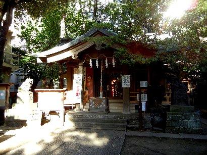 鬼王神社・拝殿