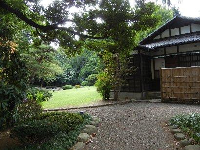 懐徳館・和館と庭
