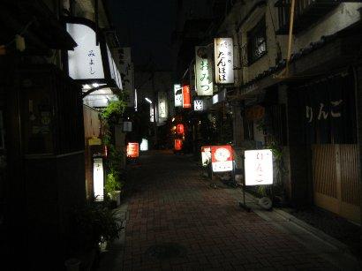 夜の辰巳新道