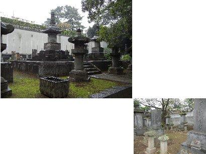 紀州徳川・三ケ月藩墓所