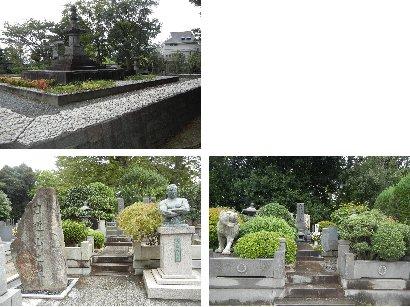 力道山・伴睦の墓、万両塚