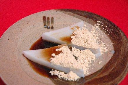 久寿餅on束熨斗文皿