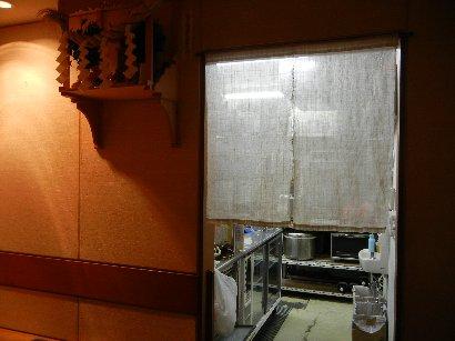 厨房入り口