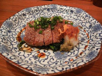 ヒレ肉のステーキ