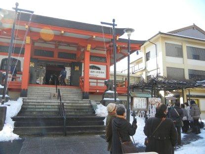 善國寺と初詣
