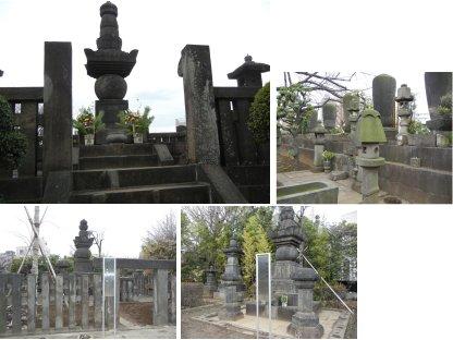傳通院の墓