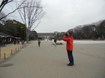 上野公園・大噴水近辺の変化