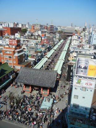 7Fからの眺め・浅草寺