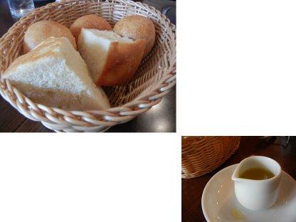 パンとオリーブ油
