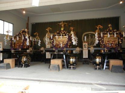 三社の神輿