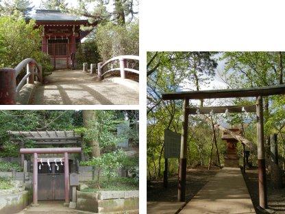 三宝寺池廻りの神社
