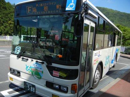 スカイライン・箱根登山バス