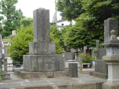 榎本武揚の墓