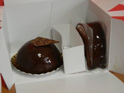 ドームショコラとショコラ・ドゥ・ショコラ