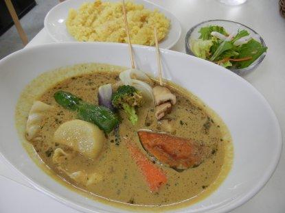 10種類の野菜スープカレー