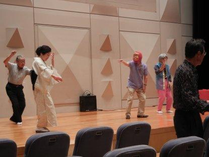 リハ・1部・面白踊り