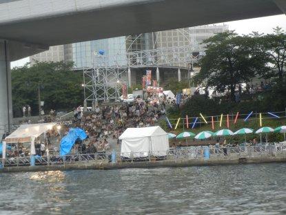 墨田区役所あたりで、催し物