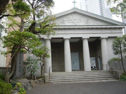 カトリック築地教会聖堂