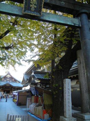 湯島神社・表鳥居