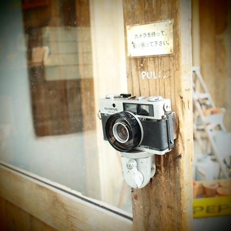 10・カメラがドアノブ