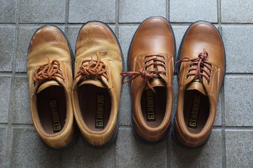 15・ホーキンスの靴