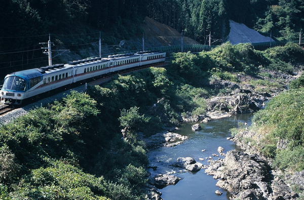 03・1995年10月エーデル北近畿キハ58改(丹波大山-下滝)