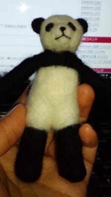 羊毛パンダ