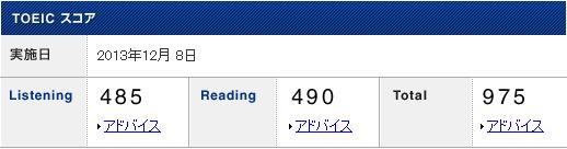 201312 result