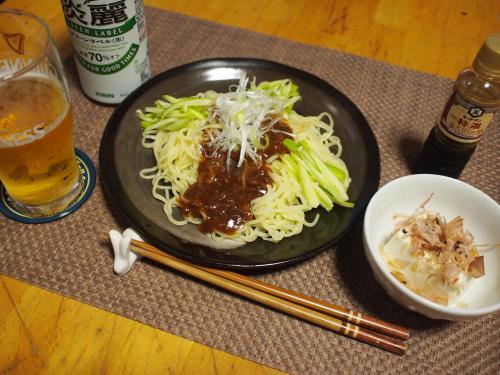 晩酌☆ジャージャー麺