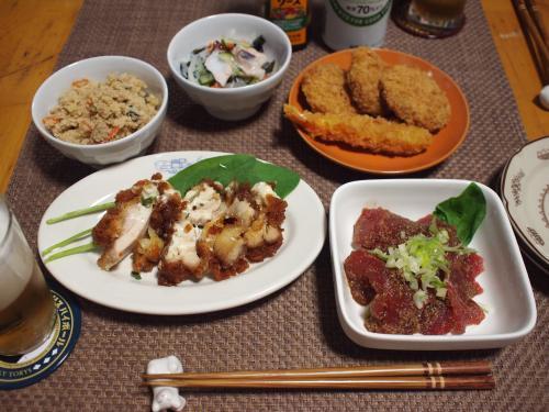 ワイズマート梅ヶ丘店のお惣菜で晩酌