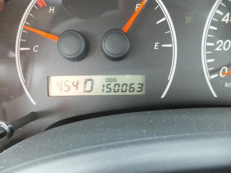 15万キロ