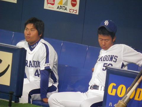 2011、3/6 平田選手と松井選手2