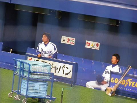 2011、3/6 平田選手と松井選手1