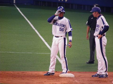 2011、3/6 走塁コーチが!