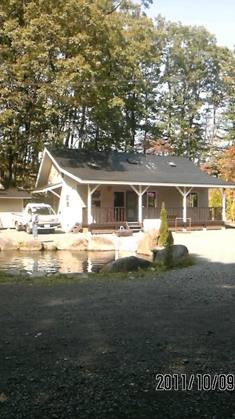 レストハウスと2号池