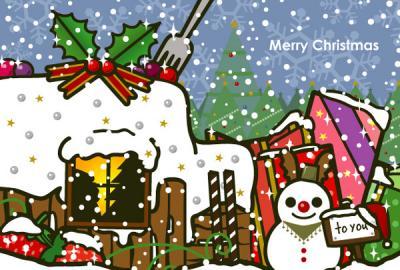 2012クリスマスイラスト