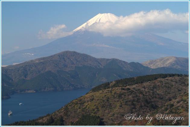大観山の富士1aa