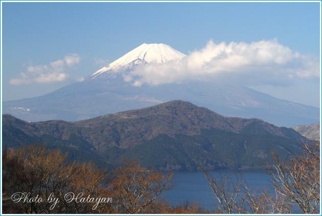 天閣台の富士2aa