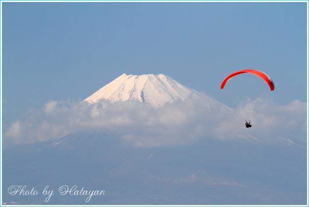 滝知山の富士2aa