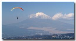 滝知山の富士1ab