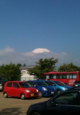 先っぽだけの富士