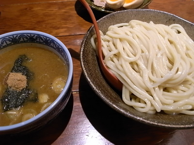 スープ濃い目