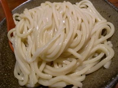 ボリューミーな麺