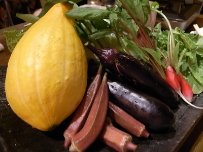 珍しい野菜たち