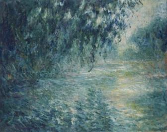 セーヌ川の朝