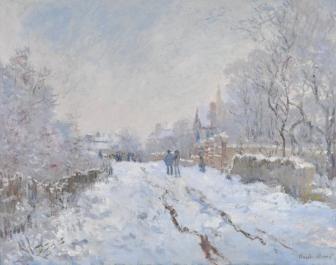 雪のアージャントゥィユ