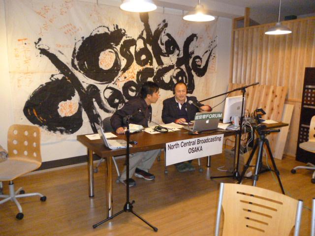 ケイオスカフェにスタジオが出来ていました